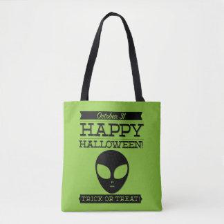 Typografisches Retro Halloween Tasche