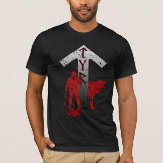 Tyr und Fenrir Rune-Shirt T-Shirt