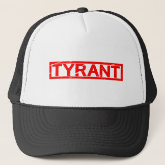Tyrann-Briefmarke Truckerkappe