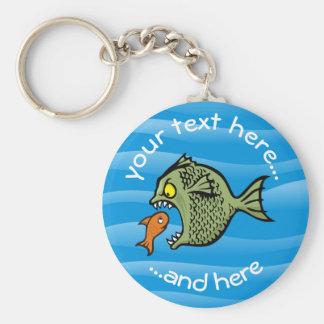 Tyrann-Fische Schlüsselanhänger