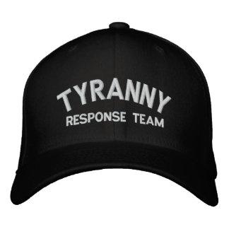 Tyrannei-Warteteam gestickter Hut Bestickte Baseballkappe