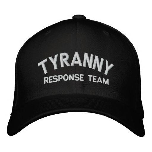 Tyrannei-Warteteam gestickter Hut Bestickte Mütze