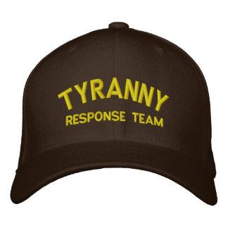 Tyrannei-Warteteam gestickter Hut Bestickte Kappe
