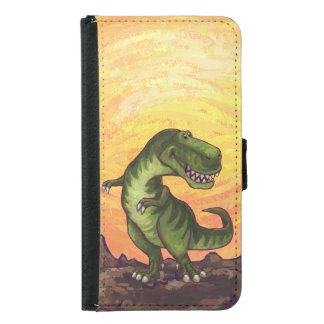 Tyrannosaurus-Geräte Samsung Galaxy S5 Geldbeutel Hülle