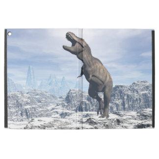 Tyrannosaurus im Schnee - 3D übertragen