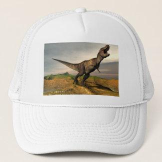 Tyrannosaurus rex Dinosaurier - 3D übertragen Truckerkappe