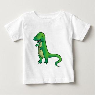 Tyrannosaurus Rex Dinosaurier-Cartoon Baby T-shirt
