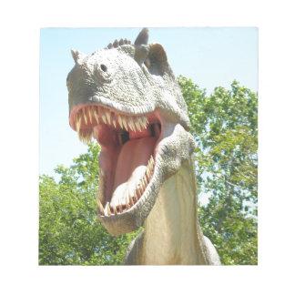 Tyrannosaurus Rex Dinosaurier Notizblock