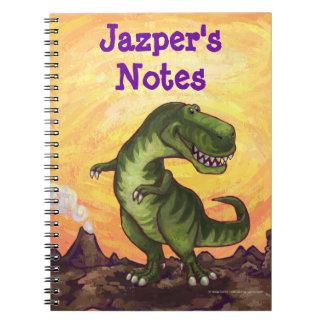 Tyrannosaurus Rex Schreibens-Material Spiral Notizblock