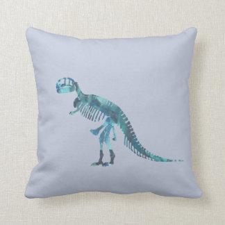 Tyrannosaurus rex Skelettkunst Zierkissen