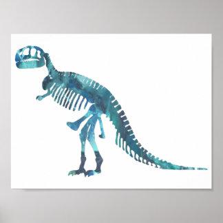 Tyrannosaurusskelett Poster