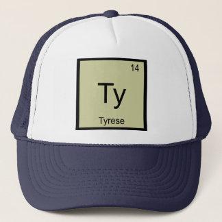 Tyrese Namenschemie-Element-Periodensystem Truckerkappe