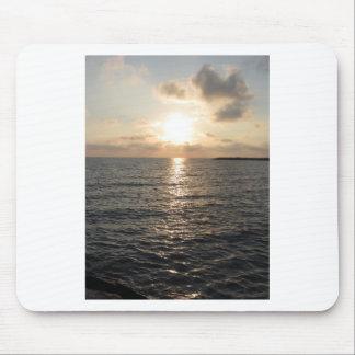 Tyrrhenisches Meer, Sonnenuntergang Mousepad