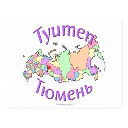 Tyumen Russland Postkarten