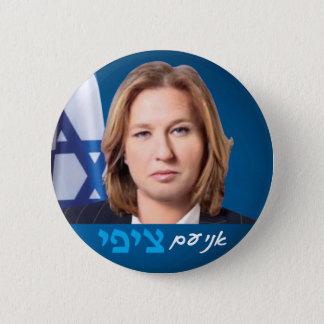 Tzipi Liwni israelisches Politik-Wahl-Button Runder Button 5,1 Cm