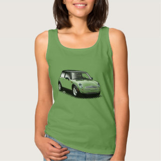 U-Auswahl-D-Farbemoderne Miniauto-Damen-Spitze Tanktop