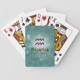 U-Auswahl-Farbwassermann-Tierkreis-Zeichen Spielkarten