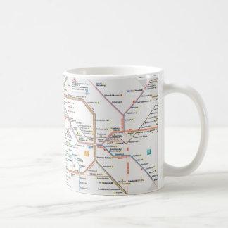 U-Bahn Berlin Kaffeetasse