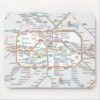 U-Bahn Berlin Mousepad