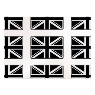U.K. Flagge Jumbo-Visitenkarten