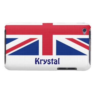 U.K. Kennzeichnen Sie,/personifizieren Sie Namen iPod Touch Case-Mate Hülle