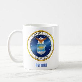 U.S.A.F. pensionierte große Tasse
