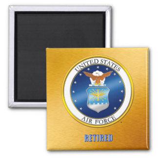 U.S.A.F. pensionierter Magnet Quadratischer Magnet