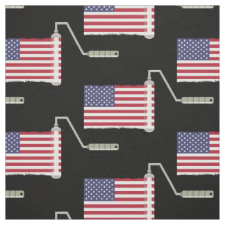 U.S.A. Flaggen-Farben-Rolle Stoff
