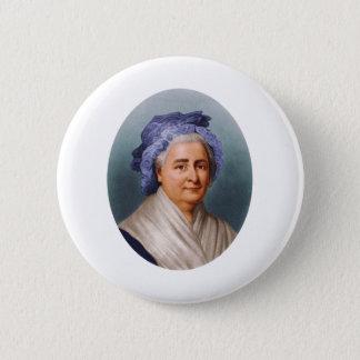 U.S. First Lady Martha Dandridge Custis Washington Runder Button 5,7 Cm