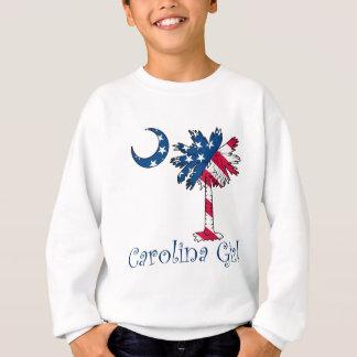 U.S. Flaggen-Carolina-Mädchen Sweatshirt