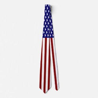 U.S. Flaggen-gestreifte Krawatte