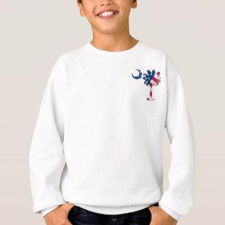 U.S. Flaggen-TaschePalmetto Sweatshirt