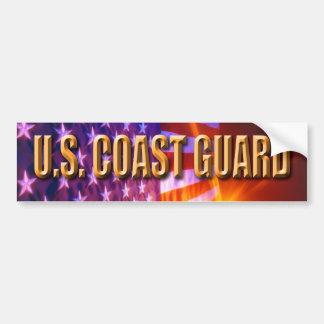 U.S. Küstenwache-Autoaufkleber Autoaufkleber