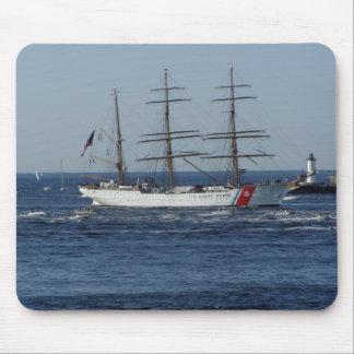 U.S. Küstenwache-Schiff Mousepads
