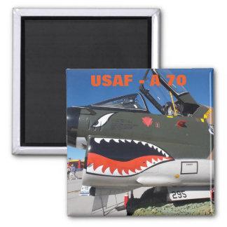 U.S. Luftwaffe A-70 Quadratischer Magnet