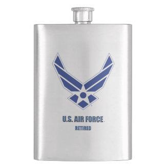 U.S. Luftwaffe pensionierte klassische Flasche Flachmann