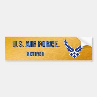 U.S. Luftwaffe pensionierter Autoaufkleber