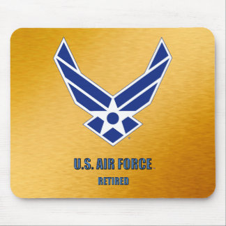 U.S. Luftwaffe pensioniertes Mousepad