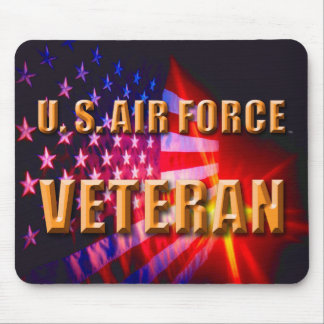 U.S. Luftwaffe Veteran Mousepad