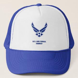U.S. Luftwaffen-Familien-Fernlastfahrer-Hut Truckerkappe