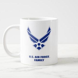 U.S. Luftwaffen-Familien-Spezialitäten-Tasse Jumbo-Tasse