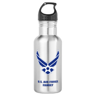 U.S. Luftwaffen-Familien-Wasser-Flasche Edelstahlflasche
