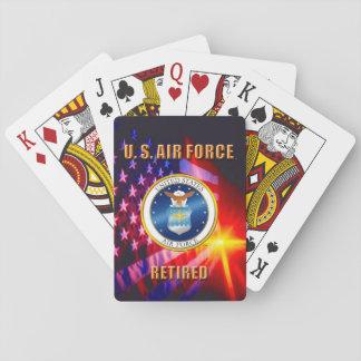 U.S. Luftwaffen-klassische Spielkarten