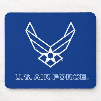 U.S. Luftwaffen-Logo - Blau Mousepad