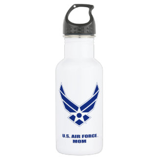 U.S. Luftwaffen-Mamma-Wasser-Flasche Edelstahlflasche