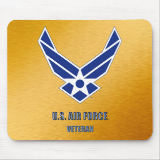U.S. Luftwaffen-Veteran Mousepad