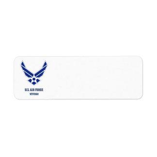 U.S. Luftwaffen-Veteranen-Aufkleber