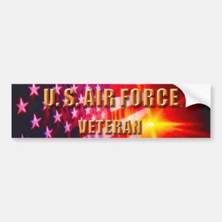 U.S. Luftwaffen-Veteranen-Autoaufkleber Autoaufkleber