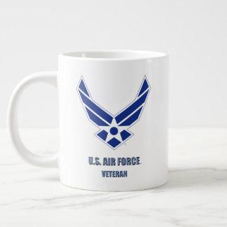 U.S. Luftwaffen-Veteranen-Spezialitäten-Tasse Jumbo-Tasse