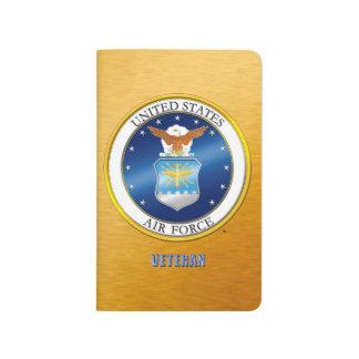 U.S. Luftwaffen-Veteranen-Taschen-Zeitschrift Taschennotizbuch